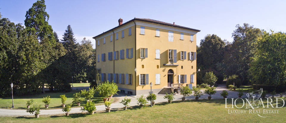 luxurious 17th century building in emilia romagna