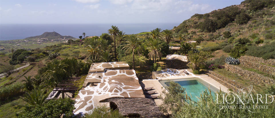 charming dammuso for sale in pantelleria