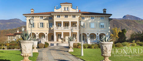 luxury estate for sale on the shores of lake iseo