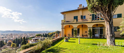 wonderful apartment in a villa at the outskirts of florence