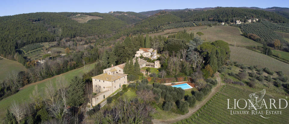 stunning farmstead for sale in the heart of chianti s hills