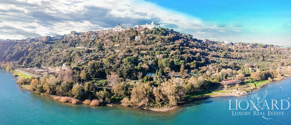charming luxury estate with a view of lake albano