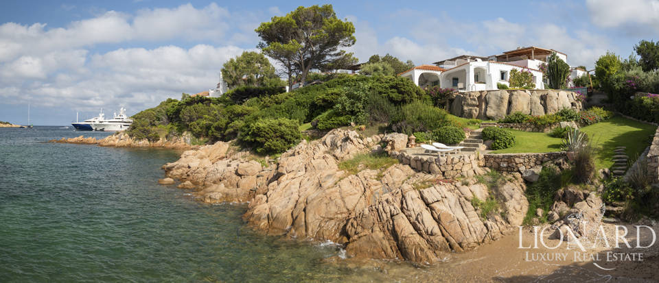 wonderful luxury villa by porto cervo s sea