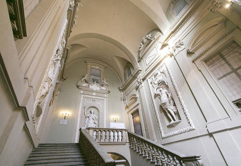 prestigious historical building for sale in bologna