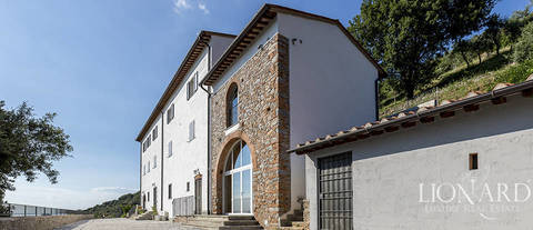 luxury villa for sale in the province of pisa