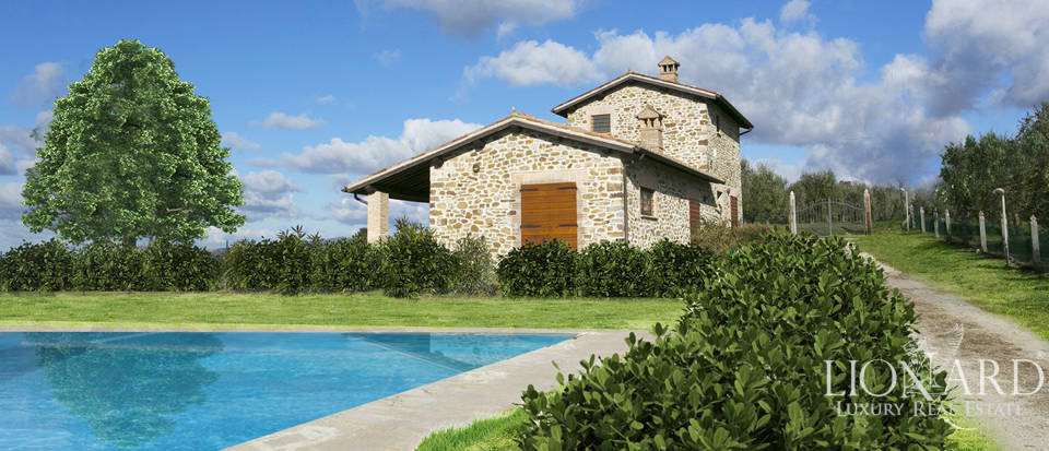 Farmhouses with swimming pool for sale in Orvieto Image 1