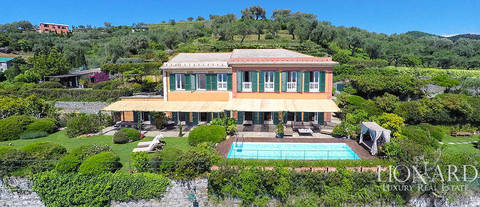 stunning villa with a charming view over portofino s sea