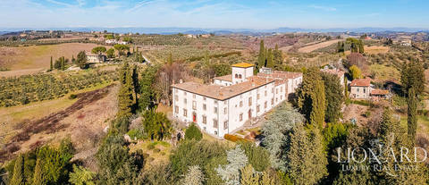 16th century villa for sale in florence s chianti