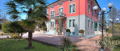 art nouveau villa for sale in the province of milan