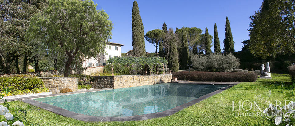 charming historical estate for sale in arezzo