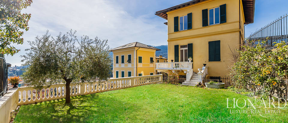 wonderful villa with sea view in santa margherita ligure