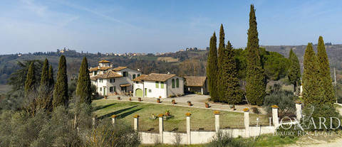 spacious farmstead for sale in florence s chianti