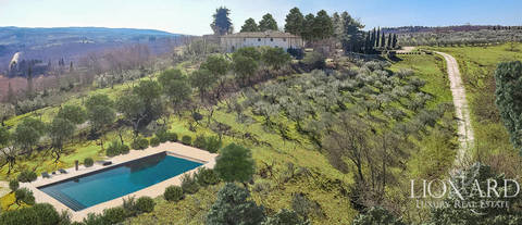 exclusive farmstead for sale in chianti