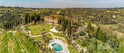stunning farmstead for sale in pisa s countryside