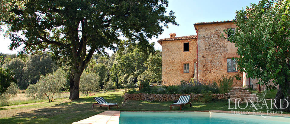 luxury property for sale in the heart of siena's countryside