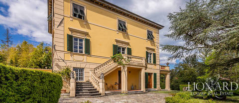 early 19th century luxury villa in lucca