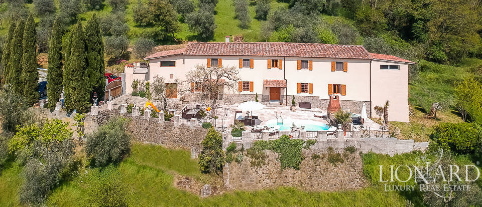 luxurious villa for sale in montecatini terme