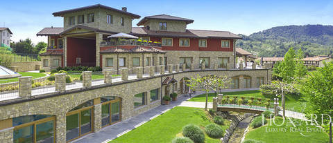 exclusive hotel for sale in the province of bergamo