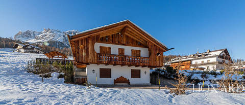 luxurious chalet for sale in cortina d ampezzo