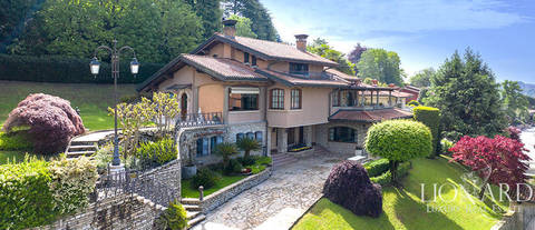 panoramic villa for sale in the province of bergamo