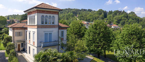 prestigious period estate for sale in azzate