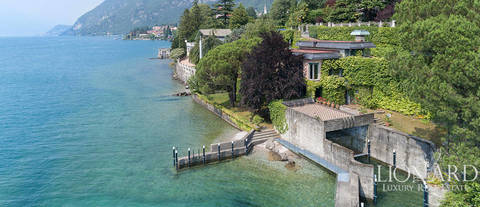 luxury villa for sale on the shores of lake como