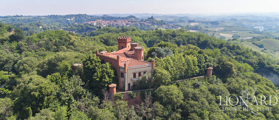 luxury castle for sale in the province of cuneo