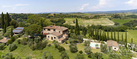 luxury agritourism resort for sale near pienza