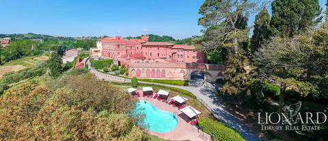 enchanting 17th century castle for sale in pisa