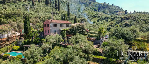 luxury villa with pool for sale in pietrasanta