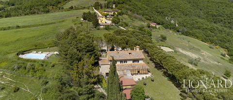 charming farmstead for sale near perugia