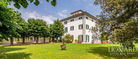 luxury eighteenth century villa for sale pistoia