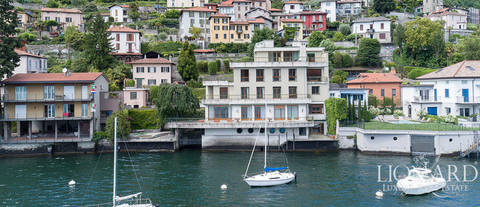 luxury villa for sale in front of lake como 1