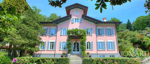 luxury villa for sale in verbania