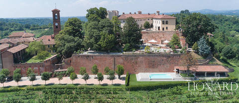 luxury castle for sale in piedmont