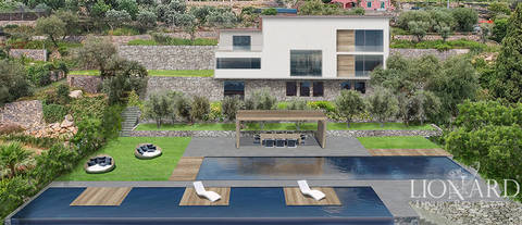 luxury villa for sale in the province of genoa