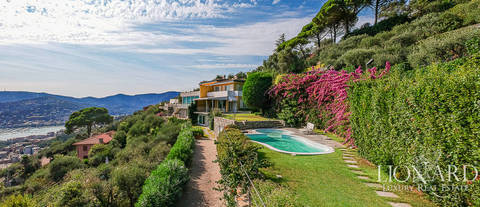 wonderful villa by the sea in santa margherita ligure