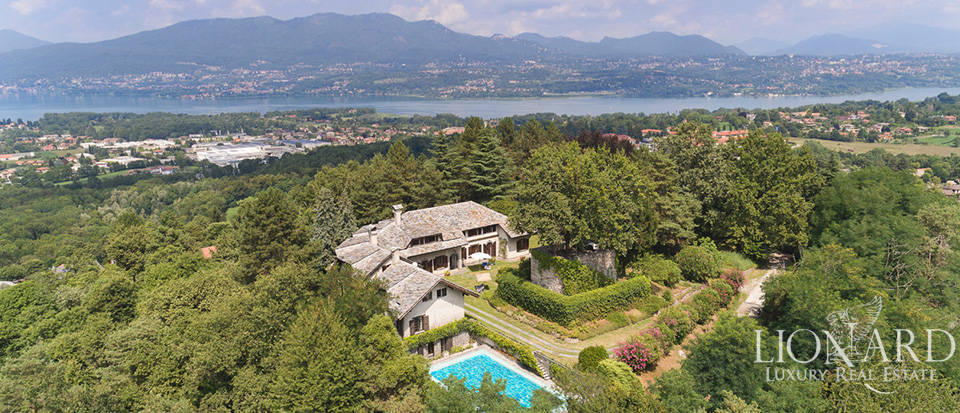 luxury villa province of varese