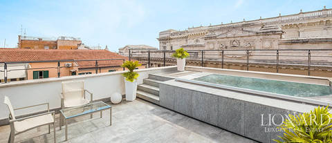 luxury penthouse for sale rome city centre