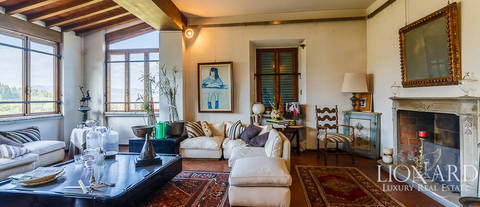 apartments for sale in 17th century villa florence