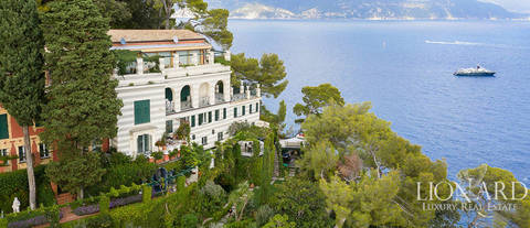 apartment in villa for sale near portofino