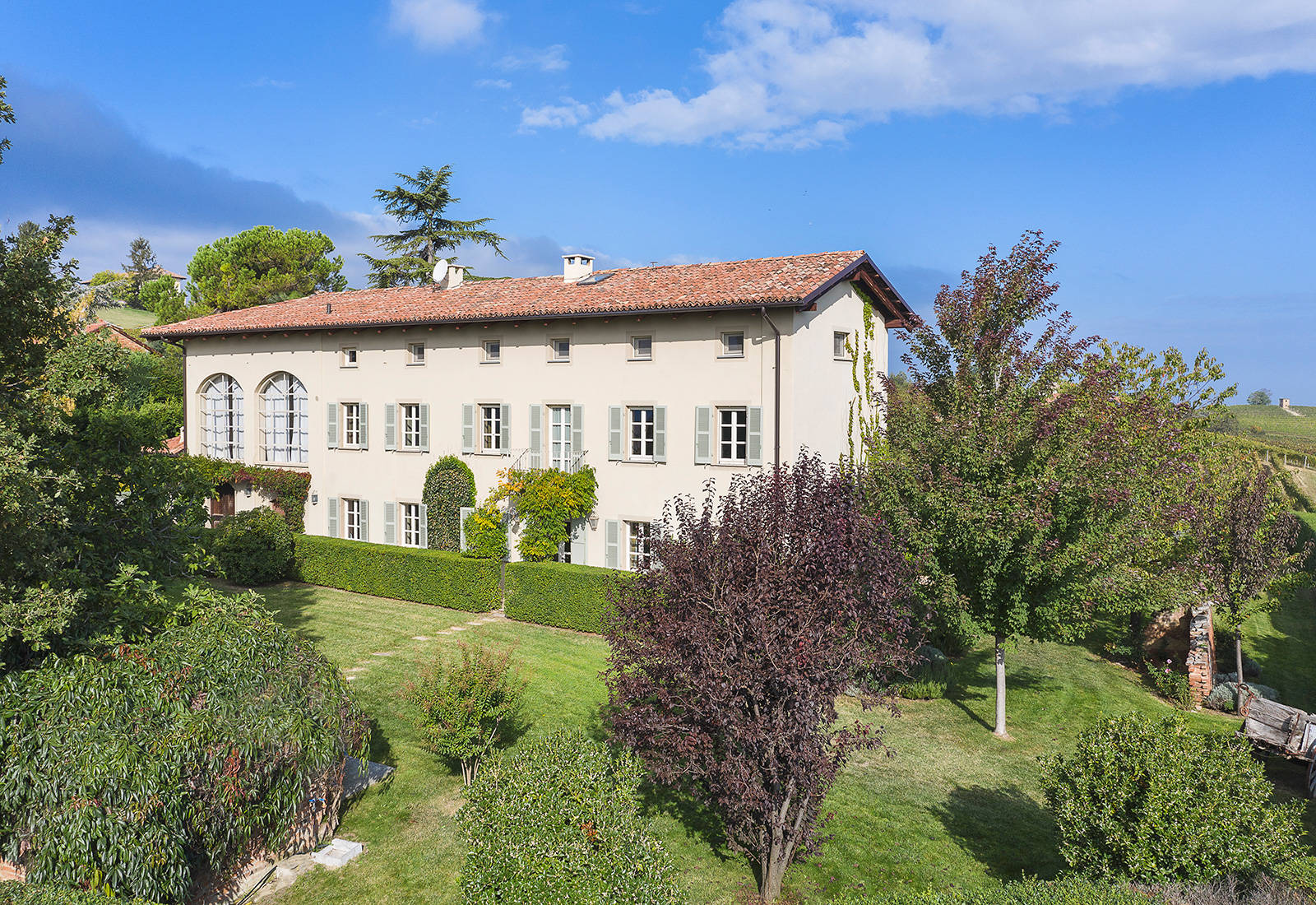 luxury villa for sale province of asti