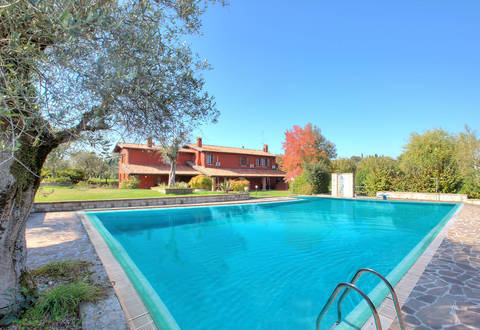 luxury villa for sale in moniga del garda