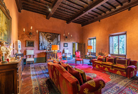 apartment in luxury villa florence