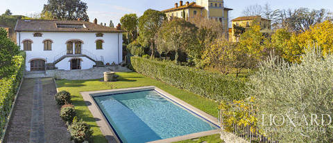 villa with pool for sale arezzo