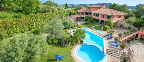 stunning luxury villa in todi