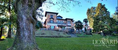exclusive luxury villa in stresa with view of lake maggiore