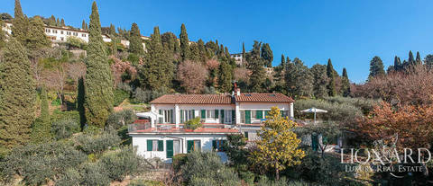 wonderful villa for sale in fiesole