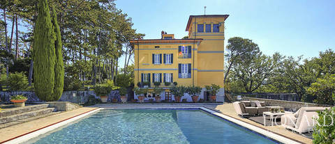 art nouveau villa for sale arezzo