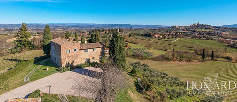 stunning agritourism resort for sale san gimignano siena